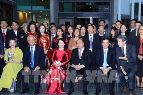 Thủ tướng Nguyễn Xuân Phúc thăm Đại học Công nghệ Auckland (AUT)