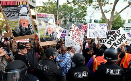 Mỹ: Tuần hành phản đối Tổng thống D.Trump tại California