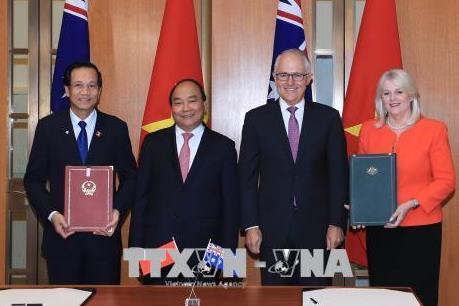 Tuyên bố chung về thiết lập Đối tác Chiến lược giữa Việt Nam và Australia