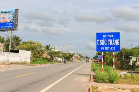 Thủ tướng đồng ý điều chỉnh quy hoạch Quốc lộ 1 đoạn qua các tỉnh Hậu Giang, Sóc Trăng