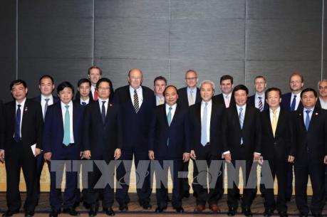 Thủ tướng Nguyễn Xuân Phúc gặp mặt nhà đầu tư hàng đầu hai nước Việt Nam - Australia