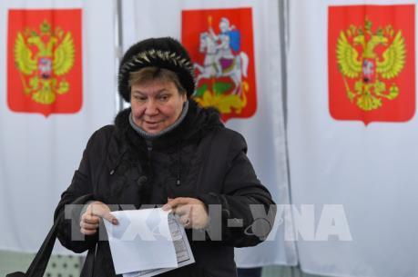 Người dân Nga quyết định tương lai đất nước
