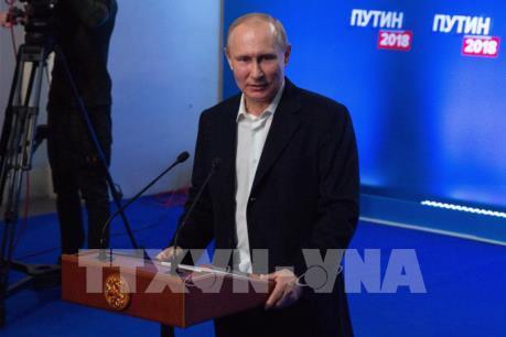 Các nước muốn đối thoại tích cực với Nga hậu bầu cử Tổng thống