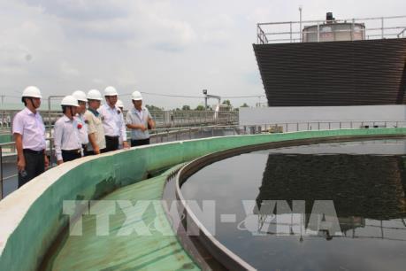 Đưa vào sử dụng nhà máy xử lý nước thải khu công nghiệp TMTC Mộc Bài