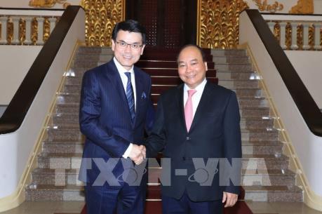 Thủ tướng Nguyễn Xuân Phúc tiếp Cục trưởng Phát triển Thương mại và Kinh tế Hồng Công