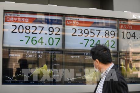 Thị trường chứng khoán thế giới chịu sức ép từ tình hình địa chính trị ở Syria