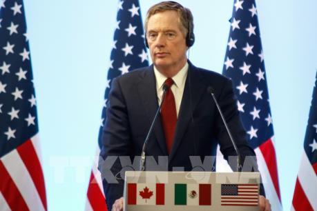 Mỹ hy vọng tái đàm phán về NAFTA sẽ sớm kết thúc