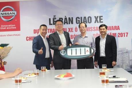 Nissan Việt Nam bàn giao lô xe bán tải Navara cho Cục Điện ảnh