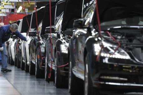 Cuộc chiến thương mại Mỹ-Trung có thể gây thiệt hại cho ngành ô tô