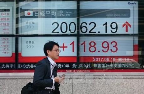 Thị trường chứng khoán châu Á đi ngược chiều