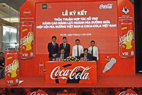 Coca-Cola Việt Nam sẽ sử dụng 100% nguyên liệu đường trong nước