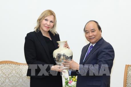 Thủ tướng Nguyễn Xuân Phúc tiếp Phó Chủ tịch Tổ chức Tài chính Quốc tế (IFC)