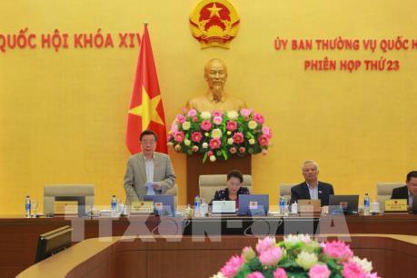 Phiên họp thứ 23 Ủy ban Thường vụ Quốc hội khóa XIV