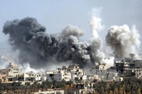 """Chuyên gia Nga đánh giá về """"thùng thuốc súng"""" Syria"""