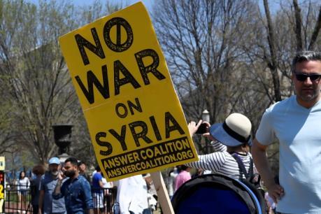 Mỹ, Anh, Pháp tấn công Syria: Biểu tình phản đối tại nhiều thành phố ở Mỹ