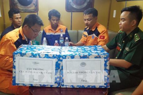 Cứu nạn ngư dân bị mất tích  3 ngày trên biển