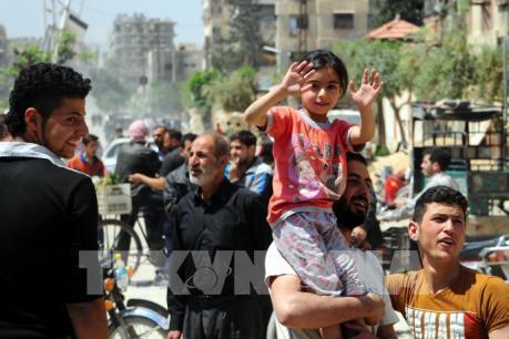Cuộc sống ở Syria trở lại bình thường sau vụ không kích của Mỹ-Anh-Pháp