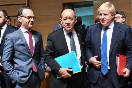 Các ngoại trưởng EU tìm cách thu hẹp bất đồng về cuộc tấn công Syria