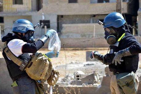Truyền hình nhà nước Syria đặt nghi vấn về cáo buộc vũ khí hóa học