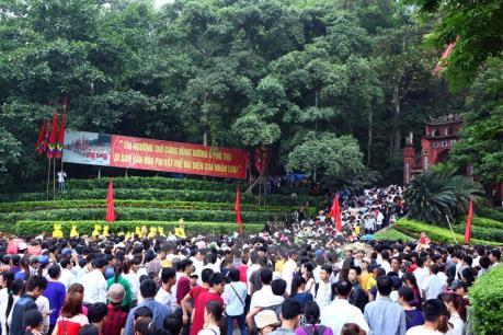 Phú Thọ phân luồng giao thông phục vụ giỗ Tổ Hùng Vương - Lễ hội Đền Hùng