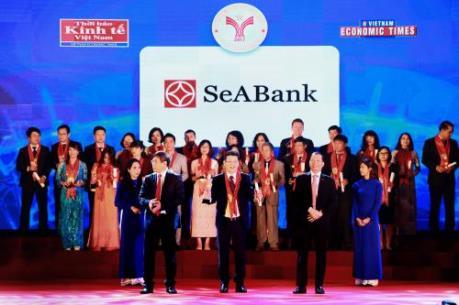 SeABank nhận giải thưởng thương hiệu mạnh Việt Nam lần thứ 9 liên tiếp