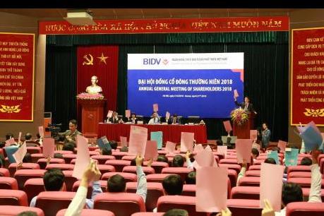 Đại hội cổ đông BIDV thông qua kế hoạch tăng vốn 9.400 tỷ đồng