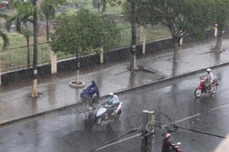 Dự báo thời tiết 3 ngày tới: Hà Nội có mưa rào và dông