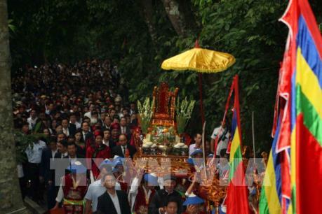 Lễ hội Đền Hùng 2018: Lễ dâng hương tưởng niệm các Vua Hùng  