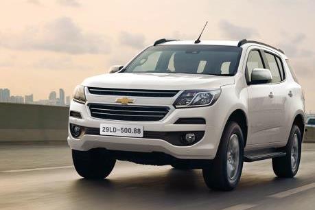 SUV Trailblazer cao cấp của Mỹ sẽ ra mắt thị trường Việt Nam đầu tháng 5