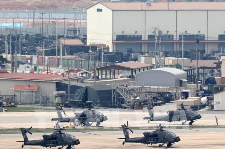 Thượng đỉnh liên Triều: Mỹ - Hàn tạm ngừng tập trận chung trong ngày 27/4