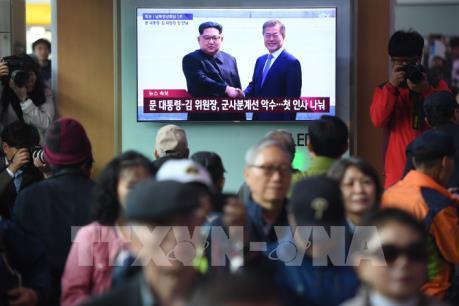 Thượng đỉnh liên Triều 2018: Lãnh đạo hai nước bắt đầu cuộc gặp lịch sử