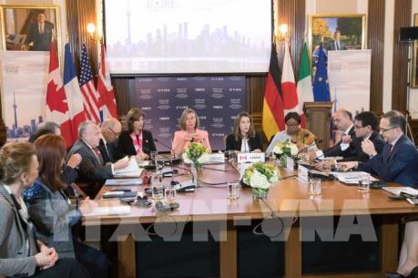 Các Ngoại trưởng G7 ra tuyên bố mạnh mẽ về tình hình Biển Đông