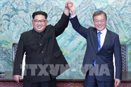 Nhìn lại những hình ảnh ấn tượng của hội nghị thượng đỉnh liên Triều