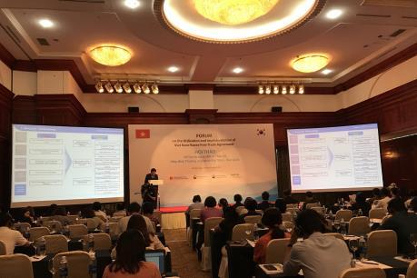 Tận dụng ưu đãi từ Hiệp định Thương mại tự do Việt Nam-Hàn Quốc