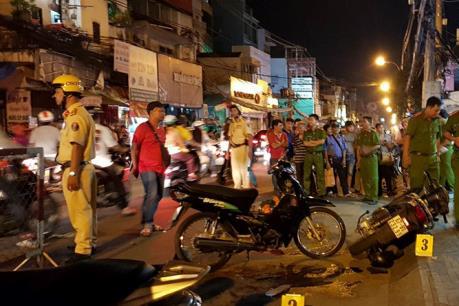 """Truy xét các đối tượng đâm tử vong hai """"hiệp sĩ"""" đường phố tại Tp Hồ Chí Minh"""