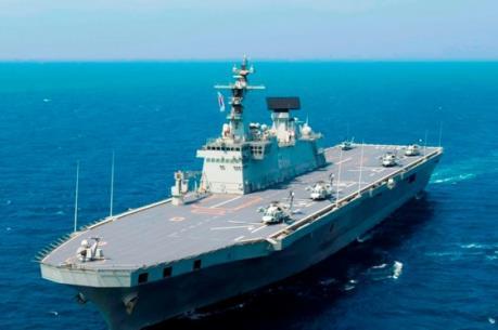 Hàn Quốc hạ thủy tàu đổ bộ tấn công mới