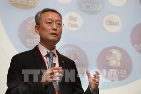 Hàn-Trung tìm cách giải quyết bất đồng thương mại