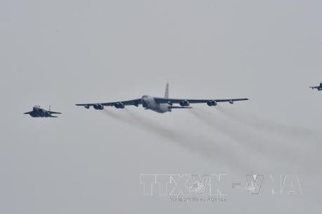 Mỹ rút máy bay B-52 khỏi cuộc tập trận chung Mỹ-Hàn