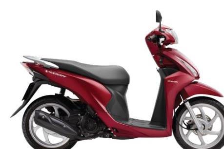 Wave Alpha và Vision dẫn dắt doanh số bán xe máy của Honda Việt Nam