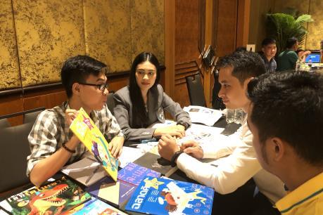 Lần đầu tiên giao thương giữa Việt Nam và Thái Lan trong lĩnh vực xuất bản