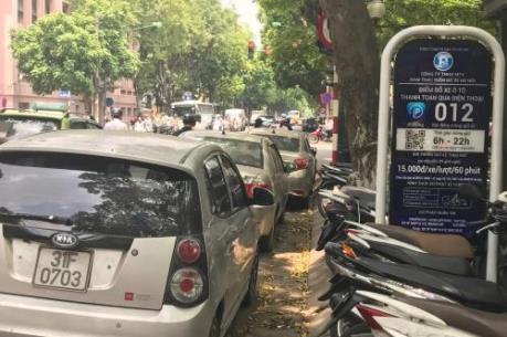 Hà Nội sẽ cấp phép trông giữ phương tiện giao thông ứng dụng Iparking từ tháng 7