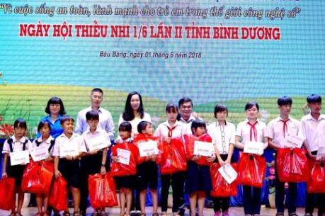 Tân Hiệp Phát trao tặng hàng nghìn phần quà cho trẻ em nhân ngày 1/6