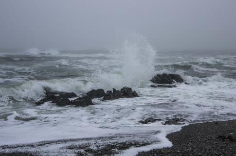 Bão mạnh hình thành ở Bắc Thái Bình Dương