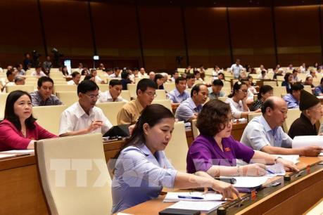 Quốc hội thông qua 3 dự thảo Luật