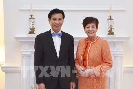 Việt Nam và New Zealand đặt mục tiêu nâng kim ngạch thương mại song phương lên 1,7 tỷ USD