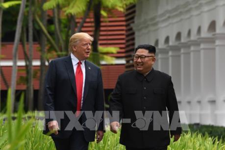 Tổng thống Mỹ công bố bức thư của nhà lãnh đạo Triều Tiên