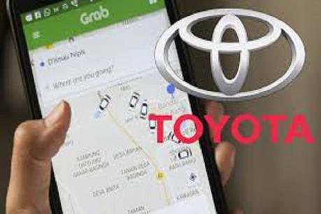 Toyota đầu tư 1 tỷ USD vào dịch vụ chia sẻ xe châu Á Grab