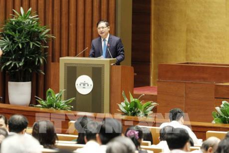 Kỳ họp thứ 5, Quốc hội khóa XIV: Biểu quyết thông qua dự thảo Luật Đo đạc và bản đồ