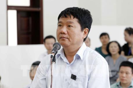 Xử phúc thẩm vụ PVN góp vốn vào OceanBank: Bị cáo Đinh La Thăng trình bày lý do kháng cáo