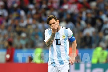 """WORLD CUP 2018: Thương hiệu """"Messi"""" liệu có sứt mẻ?"""